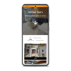 Landing Page creation for Virtual Tours